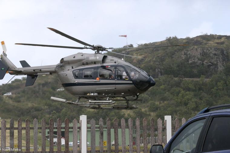 Ez a helikopter szintén Abramovicsé.