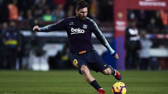 Messi 1 gólra Puskástól és Kubalától