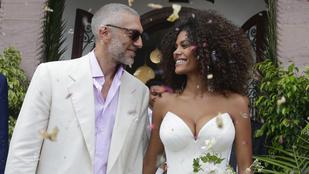 Vincent Cassel 31 évvel fiatalabb neje babát vár