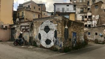 Palermo szegénynegyedét gyerekek festették tele