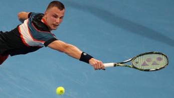 Szettelőnyről bukott Fucsovics Djokovics ellen