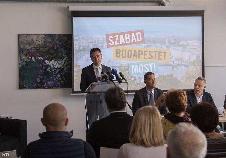 Horváth Csaba, az MSZP jelöltje