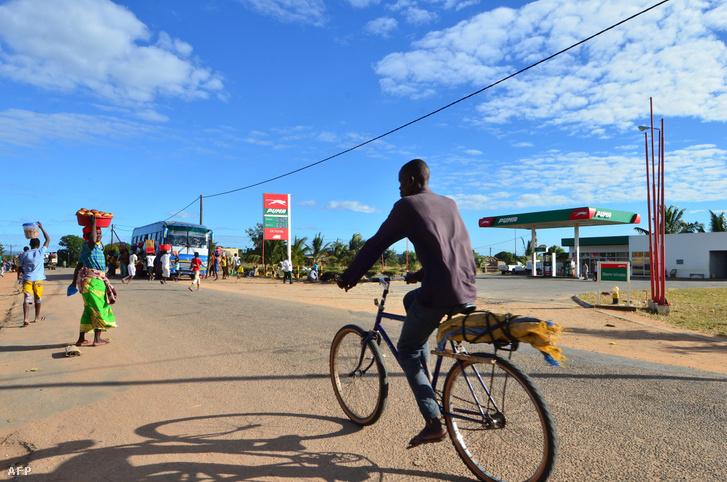 Benzinkút Cabo Delgado tartományban