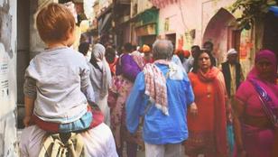 Ilyen az élet Indiában magyarként egyedül, kisgyerekkel