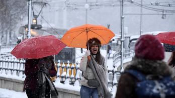 Teljes arzenálját beveti a tél január 3. napján