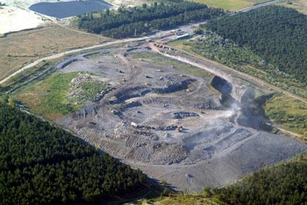 A dunakeszi lerakó (forrás: fkf.hu)