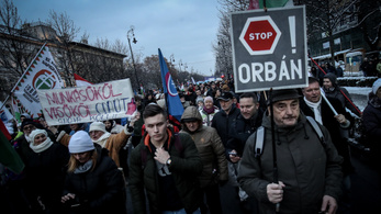 Megvan a szombati szakszervezeti tüntetés négy követelése