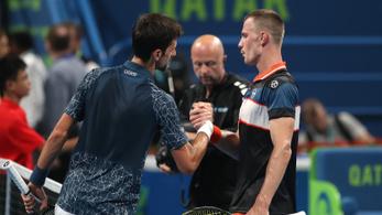 Djokovic megint agyondicsérte Fucsovicsot