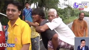 Tízezreket menekítenek ki Thaiföld tengerpartjairól