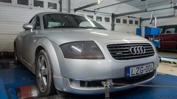 Totalcar Erőmérő: Audi TT Roadster 1,8 T quatttro