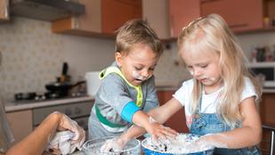 Közös főzés: 4 dolog, amiben játszva fejlődik a gyereked
