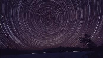 Péntek hajnalban jön az év első meteorraja