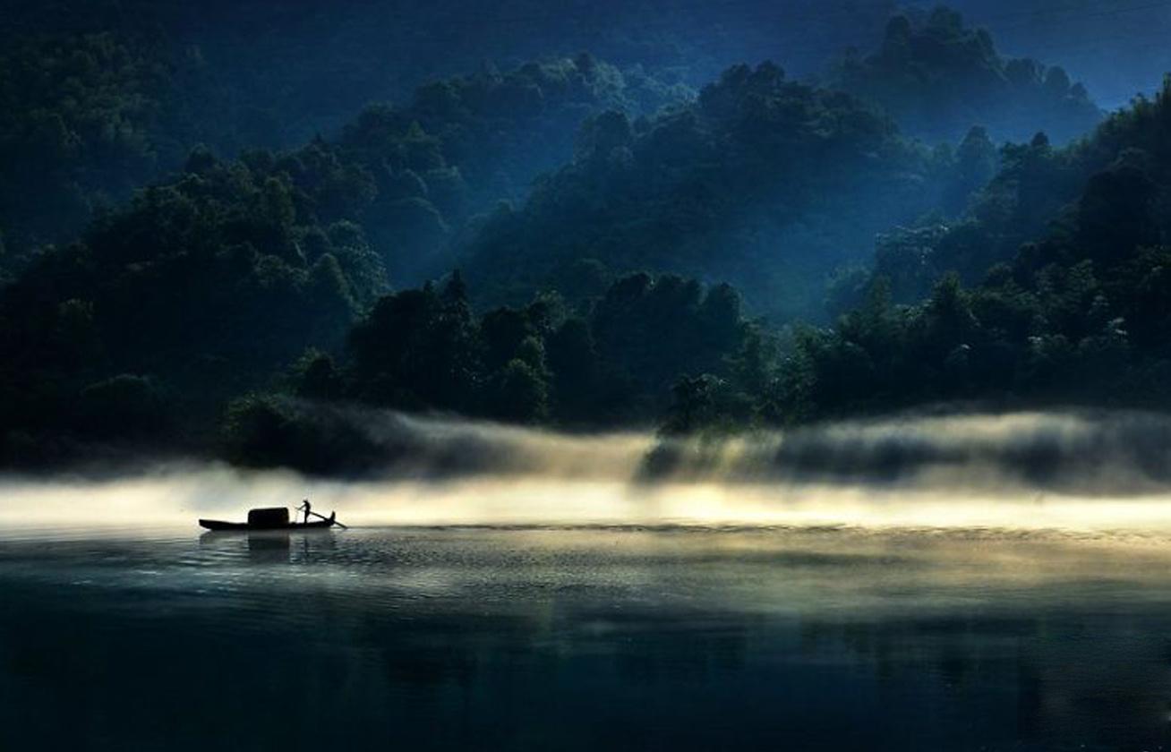 A fény szépsége kategória különdíjasa - Zhenzheng Hu, Kína.
