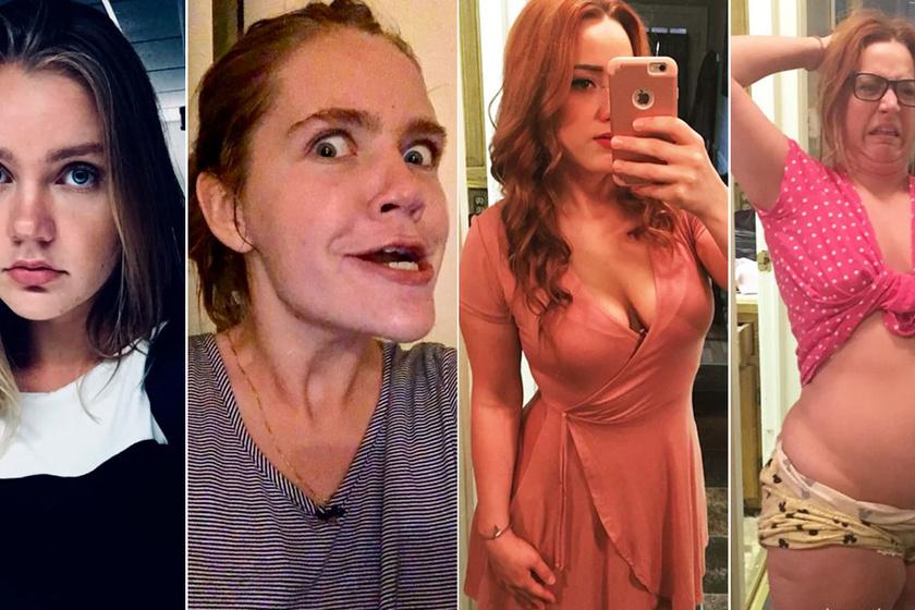 Te kitalálnád, hogy ugyanaz a lány van a két képen? Pedig igen, csak van egy hatalmas különbség
