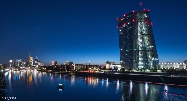 Az Európai Központi Bank frankfurti székháza
