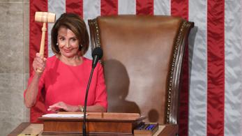 Nancy Pelosit választották a képviselők házelnöknek