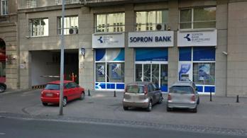 16 millióra bírságolták a Sopron Bankot