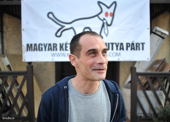 Kovács Gergely 2018. április 8-án.