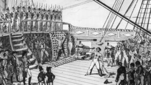 Brutális eszközökkel büntették a tengerészeket