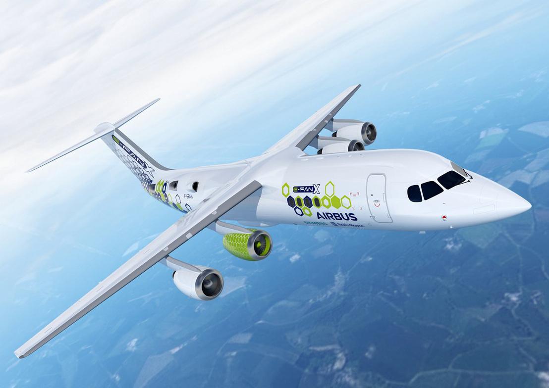Airbus E-Fan X, 3D-s látványterve