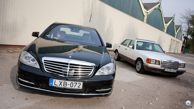 W211 és W126 - koruk krémje