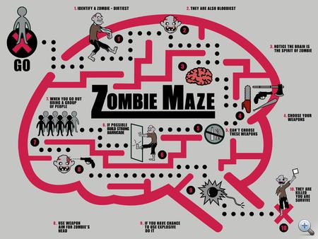 zombie-maze