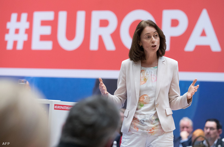 Katarina Barley, német igazságügyi miniszter