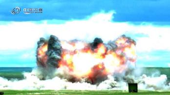 Kína kipróbálta a legerősebb nem nukleáris bombáját