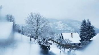 Az egész országban havazik