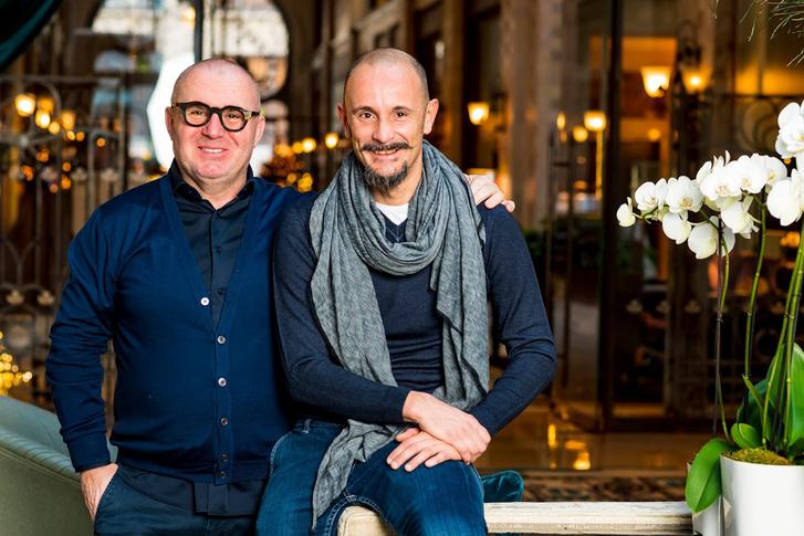 Herczeg Zoltán és Enrico Crippa