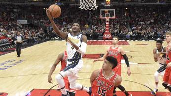 0,3 mp alatt két tripla – őrült befejezés az NBA-meccsen
