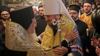 Szentesítették az ukrán-orosz ortodox egyházszakadást