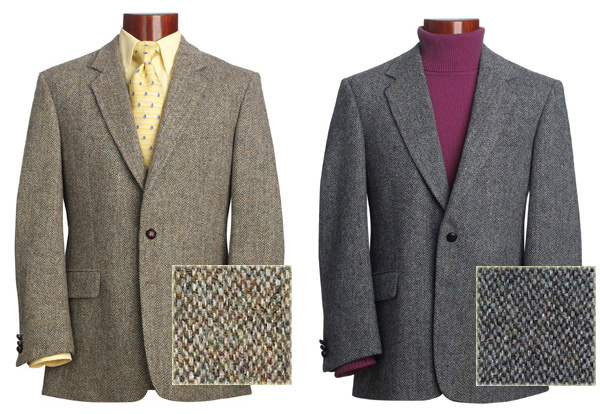 Autumn Classic Tweed, Blue Mix Classic Tweed