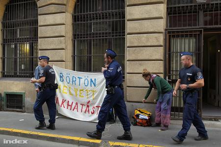 Egy októberi demonstráció