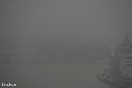 Tavalyi szürkeség a Dunán