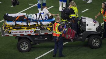 Horrorsérülés indította az NFL-rájátszást