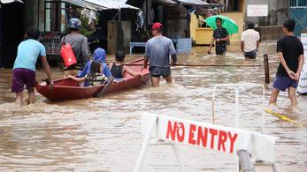 Legalább 126-an meghaltak az év végi viharban a Fülöp-szigeteken