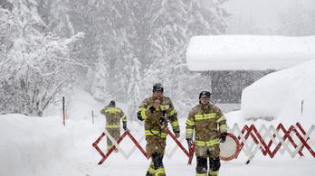 Veszélyes lavinákra figyelmeztetnek több osztrák tartományban
