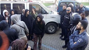 Várandós palesztin nő meggyilkolása miatt fogtak el öt telepest Izraelben