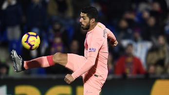 Luis Suarez bevágta a szezon kapásgólját