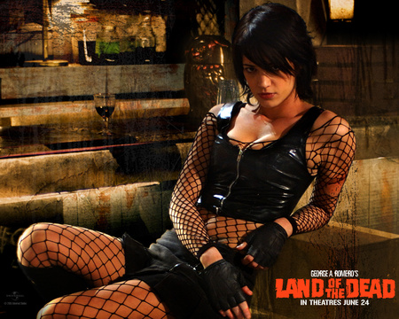 Asia Argento in Land of the Dead Wallpaper 2 1280