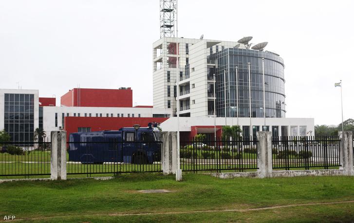 A televízió épülete 2017-ben