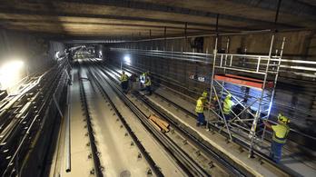Két hónapos csúszásban van a 3-as metró felújítása
