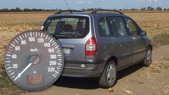 500 ezer kilométer egy Opel Zafirával