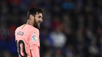 Messi is csak ember, akkora kötényt kapott, mint a ház