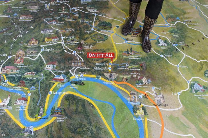 Bejárható látványtérkép a Nógrád megyei Szendehely-Katalinpusztai Kirándulóközpontban