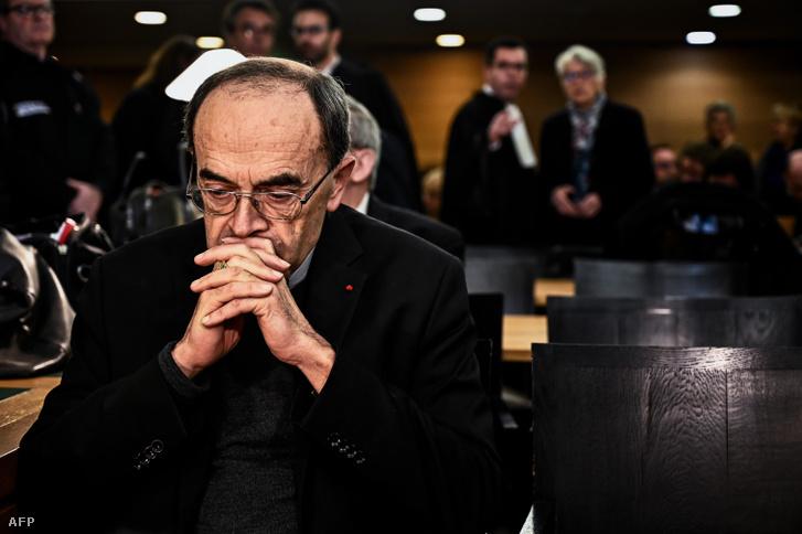 Philippe Barbarin a bíróságon