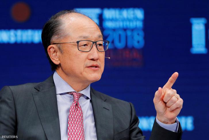 Jim Yong Kim 2018. május 1-én.
