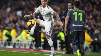 Izomszakadást szenvedett a Real Madrid középpályása