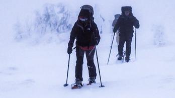 Így öltözz a hóban, ha tombolnak a mínuszok